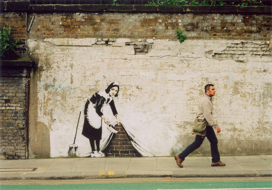 Bansky, London 2006