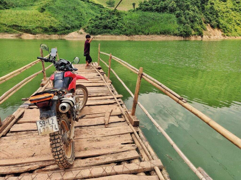 Bamboo Ferry